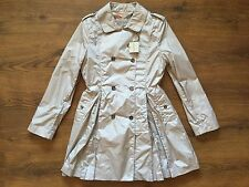 new 100 % authentic BURBERRY women beige trench coat Size M ( It-38)