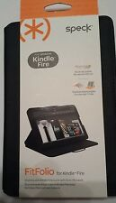 SPECK FITFOLIO FOR AMAZON KINDLE FIRE TABLET, BLK SPK-A0962 (GREAT PRICE)