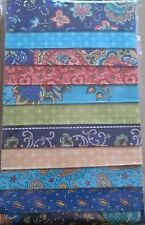 "Fabric Wafers 5"" strips - Bohemian Rhapsody - 10 pieces 5"" x 44"""