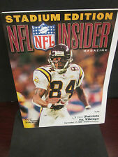 NFL- NEW ENGLAND PATRIOTS VS. MINNESOTA VIKINGS-9/17/2000- RANDY MOSS #84INSIDER