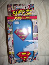 SUPERMAN CLASSIC IPHONE 5 CASE BRAND NEW IN BOX rrp £9.99