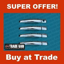 CITROEN C4 PICASSO DOOR HANDLE COVERS STAINLESS STEEL 4PC 2005-10 HANDLE COVERS