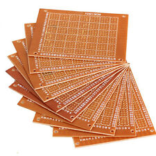 5PCS 9x15cm Prototype Paper Boards PCB Blank Printed Circuit Board DIY