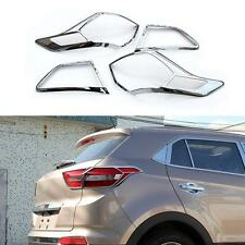 4 Pcs/Set Rear TailLight Frame Cover Trim ABS For Hyundai IX25 Creta 2015