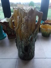 William Ault British Art Pottery Walking Stick or Umbrella Stand Art Nouveau 23""