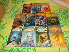 EDGAR RICE BURROUGHS~COMPLETE 11 BOOK MARS SERIES~ALL MATCHING DEL REY PRINTS