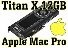  Nvidia Titan X 12GB Maxwell Apple Mac Pro compatible - 5K support - In stock!