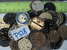- 1 Lot Assorted  Seiko and CITIZEN WATCH DIAL FACE  Parts Watch AsIs