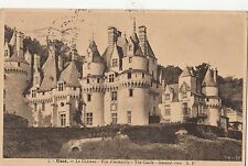 B80008 usse le chateau france vue d ensemble the castle   front/back image