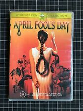 APRIL FOOLS DAY rare Australian DVD cult 80s Hollywood slasher horror movie R4