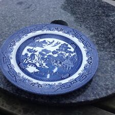 Mason Willow pattern dinner plate