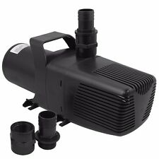3200GPH Submersible External Water Pump Fresh Saltwater Koi Pond Waterfall 1/3HP