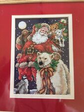 Dimensions Gold Collection Petites BELOVED SANTA Cross Stitch Kit  NEW MPN 8676