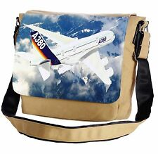 Airbus A380 Messenger Cross-Body Shoulder Flap Bag