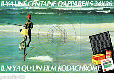 PUBLICITE ADVERTISING 016  1982  KODACHROME  film diapositive  KODAK (2p)