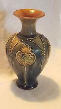 Royal Doulton Lambeth ware vintage Victorian antique stoneware vase