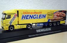 "Herpa - MB Actros `11 BigSp KüKoSZ ""Henglein Pizzateig"" - PC-Modell 121569 -1:87"