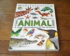 DK SMITHSONIAN, THE ANIMAL BOOK, VISUAL ENCYCLOPEDIA, BRAND NEW 2016 PAPERBACK