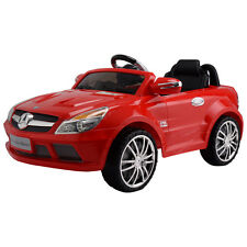 Mercedes-Benz SL65 12V Electric Kids Ride On Car Music RC Remote Control Red