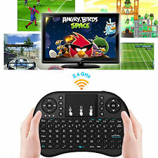 i8 2.4Ghz Mini Wireless Keyboard Remote Controls Touchpad for Android TV PC New