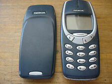 NOKIA 3310 MOBILE PHONE UNLOCKED LOVELY RETRO PHONE NOKIA CASING GRADE C