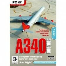 A340-500 / 600 Expansion pack for FS2004 / FSX (PC DVD) Nouveau Scellé