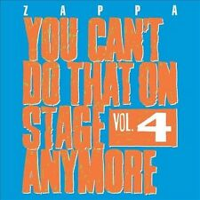 NEW You Can't Do That On Stage Anymore, Vol. 4 by Frank Zappa CD (CD) Free P&H