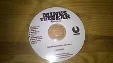 CD Indie Minus The Bear - Planet Of Ice (10 Song ) Promo UNDERGROOVE disc only
