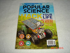 "POPULAR SCIENCE "" HACK YOUR LIFE ""        BRAND NEW"