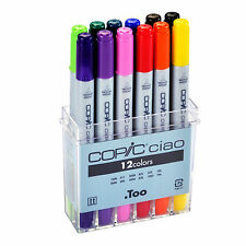 Copic Markers Ciao12 Colors Basic Set Premium Artist Markers Anime Comic Manga