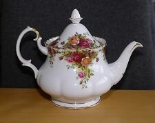 Royal Albert Bone China Old Country Roses Large Teapot, Made in England