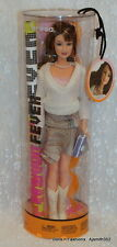 2004 Fashion Fever Teresa Dressed Barbie Doll White Sweater Stripe Skirt - NRFB