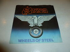 "SAXON - Wheels Of Steel - 1980 UK 2-track 7"" Vinyl Single"
