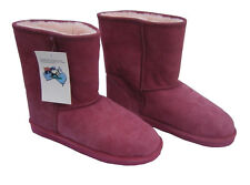 Classic Midcalf Ugg Boots Rose Pink Australia Sheepskin Short Wool Boot New