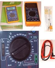 DMM/Digital Multi-Meter/MultiMeter,Test Capacitance/Capacitor,Temperature too!