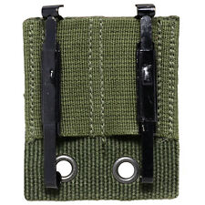NEW Bundeswehr MODULAR BELT MOUNT and ALICE CLIPS - Olive Green Webbing Holster