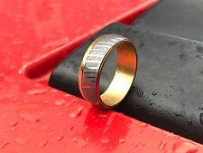 New Custom Handmade Damascus Ring for men two tone (Size 10.5)