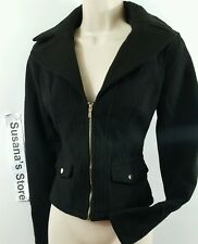 NWT BEBE HELENA JACKET SIZE M fabulous Front pockets So Gorgeous