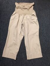 Oh Baby Size M Medium Tan Pants Maternity By Motherhood