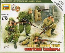 Zvezda 1/72 Figures - Soviet Sniper Team Z6193