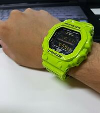 Vintage G-Shock Custom Crazy Green 3D Buckle Effect Kolor Solar GWX GXW GX-56 M6
