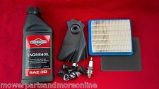 "Masport 19"" Mower Service Kit, Blades 783310, Filter 491588s, Spark Plug, Oil"