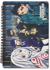 Deadman Wonderland Spiral Notebook Note Book Anime NEW