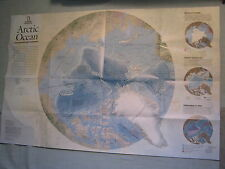 ARCTIC OCEAN MAP +TWILIGHT OF ARCTIC ICE National Geographic May 2009 MINT