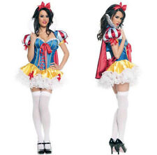 New SnowWhite Princess Lingerie Party Costume Halloween Cosplay Fancy Dress