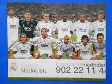 REAL MADRID  2006-2007 Team Print