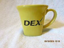 HTF DEX Online Yellow Pages Coffee Mug Cup VGC!! Clean!