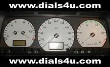 VOLKSWAGEN VW TRANSPORTER T4 - MID MODELS 1995-99 - 180kmh/200kmh WHITE DIAL KIT