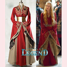 Custom Made Game of Thrones Queen Cersei Lannister Red Exclusive Dress Costume