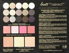 1 NYX BUTT NAKED EYE KIT- S122 - ALL PALETTE - MAKE UP SET